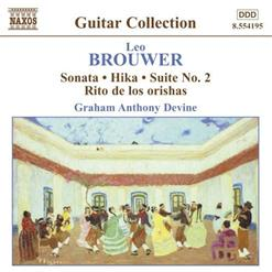 Leo Brouwer - Guitar Music Vol. 3